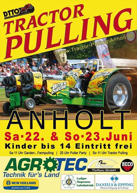 TRACTOR PULLING JUNI 2019 IN ANHOLT